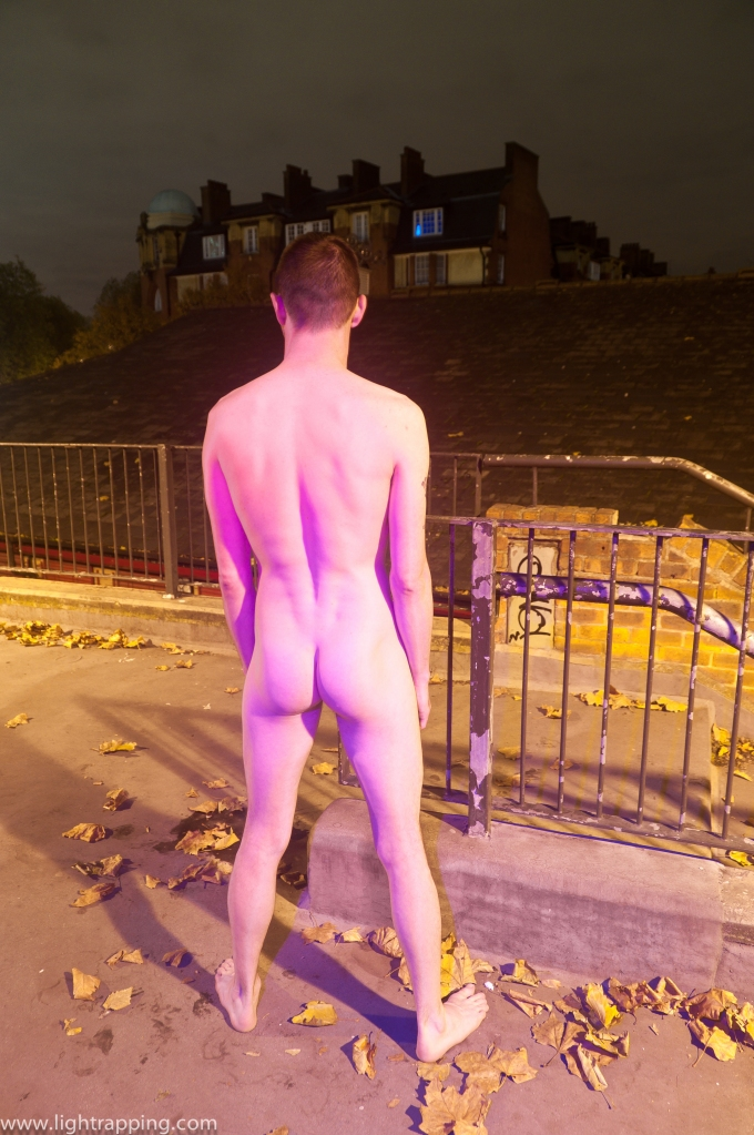 Walworth, London, UK, housing project, gentrification, building, street, 2012, trip, travel, back, butt, nude, naked