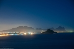 2013, Barra da Tijuca, beach, Brazil, city, city lights, cityscapes, deserted, forest, hill, mountain, Prainha, Recreio, Rio, Rio de Janeiro, road, sea, skyline