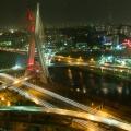 2012, Brazil, Sao Paulo, Hotel, High-Rise, Armchair, Bridge, River