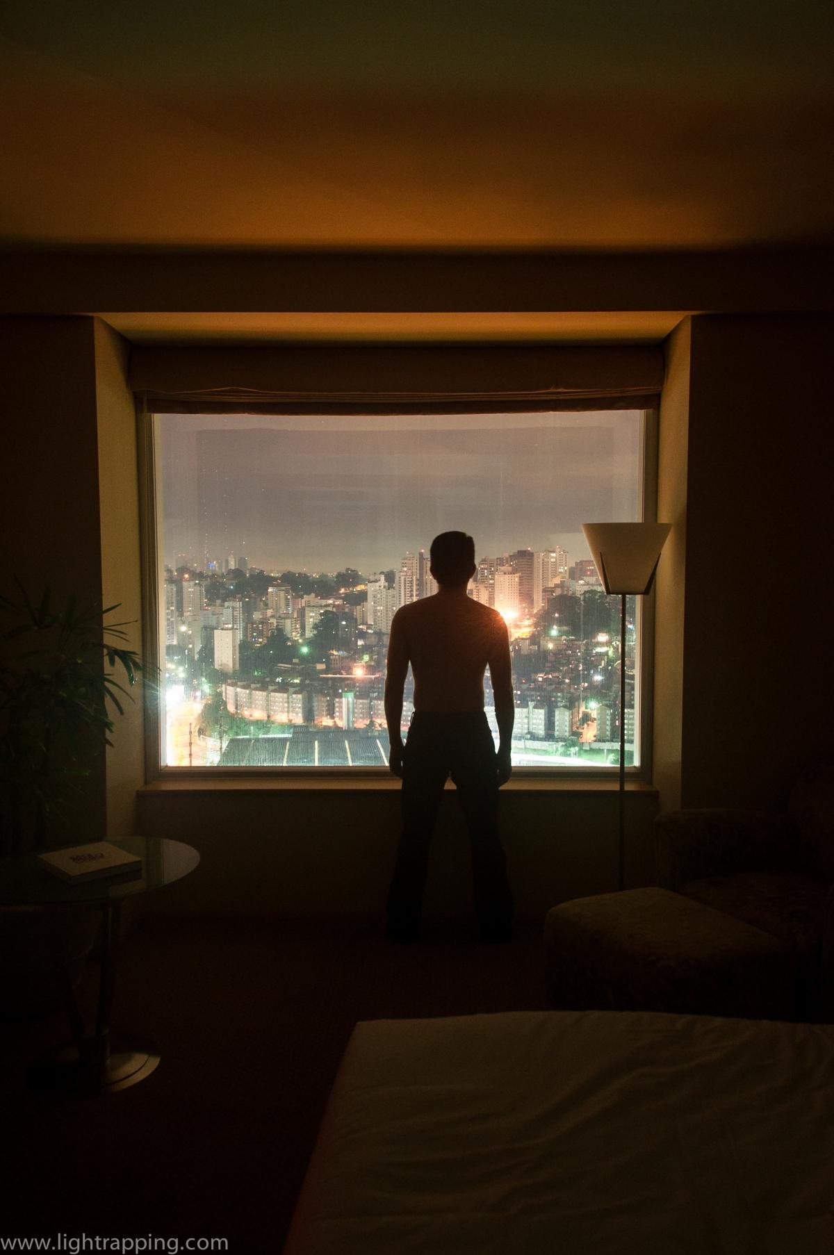 2013, Brazil, Sao Paulo, Hotel, High-Rise, Armchair, Bridge, River